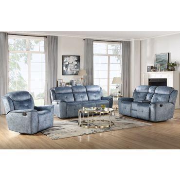 Jimenes Modern Style Reclining Sofa