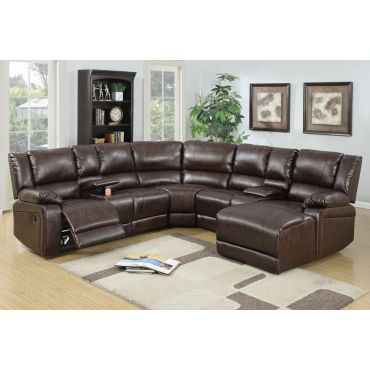 Joshua Recliner Sectional With Console,Joshua Recliner Sectional Dimentions