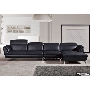 Justian Modern Sectional Italian Leather