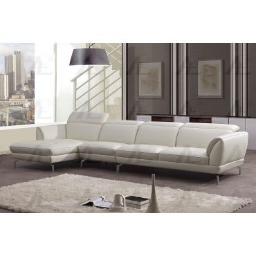 Maxell Leather Sectional Sofa Set