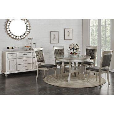 Kacy Round Dining Table Set
