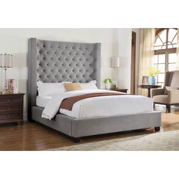 Kadison Tufted Tall Headboard Bed
