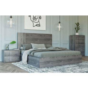 Karel Italian Design Platform Bed