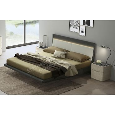 Karel Italian Design Platform Bed