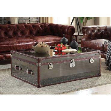 Karson Vintage Trunk Coffee Table
