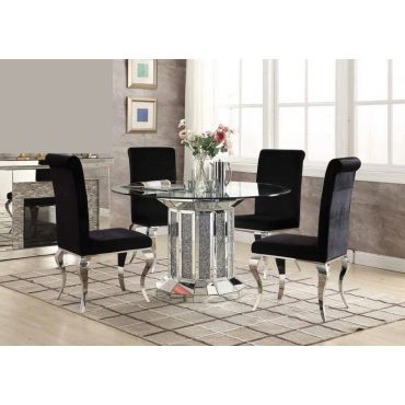 Kasela Mirrored Dining Table