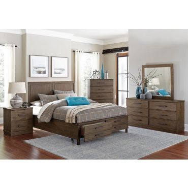 Kasler Bedroom Furniture Rustic Finish