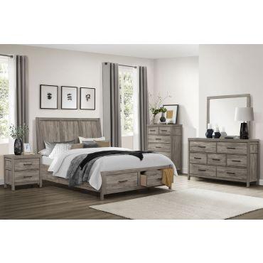 Kasler Bedroom Furniture Rustic Finish