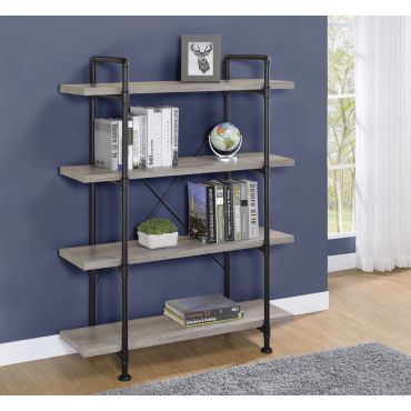 Kayce Industrial Style Bookcase