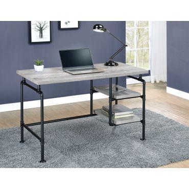 Kayce Industrial Style Office Desk