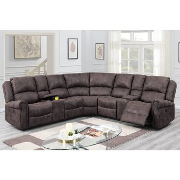 Keamey Power Recliner Sectional Set