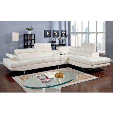 Kemy Adjustable Headrest Sectional Sofa