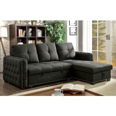 Kent Sectional Bed With Storage,Kent Sectional in Bed Position