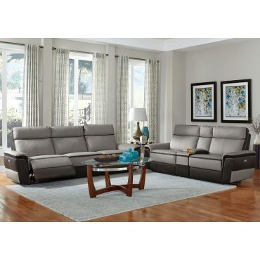 Kevin Power Recliner Sofa Top Grain Leather,Kevin Power Recliner Chair,Kevin Power Recliner Love Seat With Console