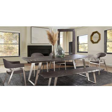 Kleef Live Edge Acacia Wood Dining Table