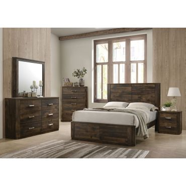 Kozani Transitional Style Bedroom Collection
