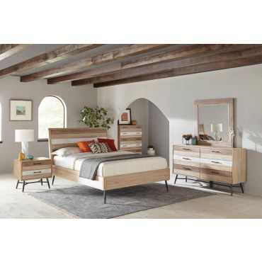Kragen Wire Brushed Finish Bedroom Furniture
