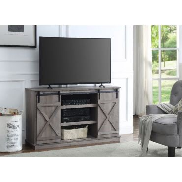 Langford TV Stand With Barn Doors