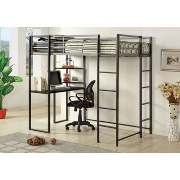 Langley Loft Bed With Workstation