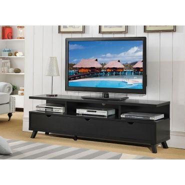 Lanie 70 Inch Black TV Stand