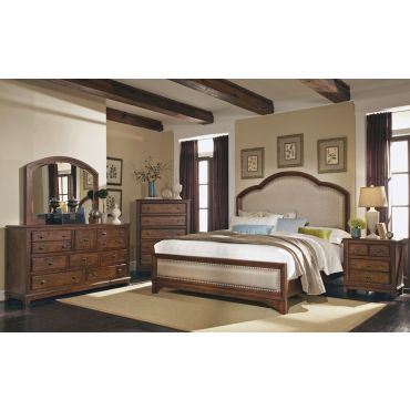 Laughton Rustic Style Bedroom Collection