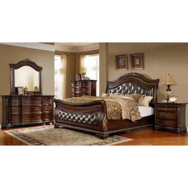 Ledelle Traditional Sleigh Bedroom