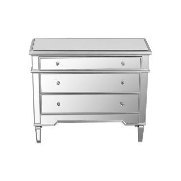 Ledger Mirrored Accent Chest