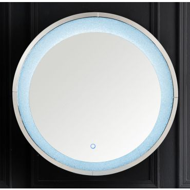 Liam Round LED Wall Mirror