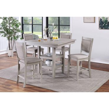 Lindsay 5-Piece Counter Height Table Set