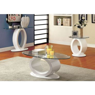Lodia White Modern Style Coffee Table