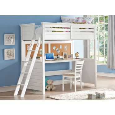 Lofter Bunkbed With Workstation