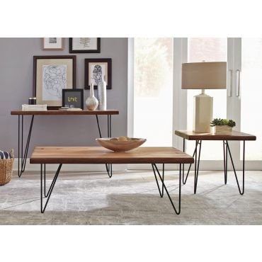 Lorri Rustic Modern Coffee Table,