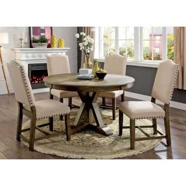Lowsun Round Dining Table Set