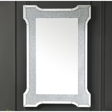 Lucca Modern Accent Wall Mirror