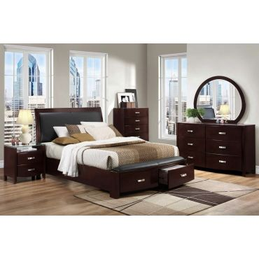 Lyric Platform Bed With Storage Drawers