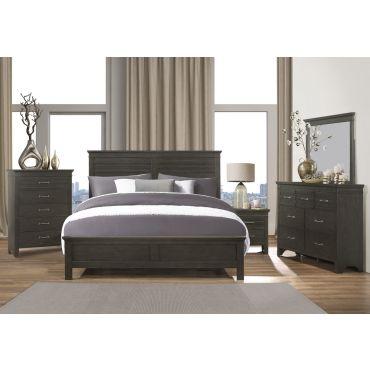 Magdalen Bedroom Furniture Grey Finish