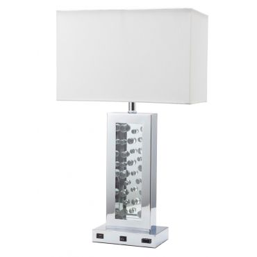 Maria Mirrored Table Lamp