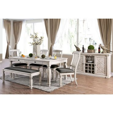 Maribelle Classic Dining Room Table Set