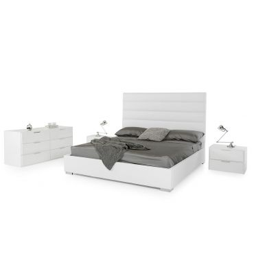 Marlon Leather Bedroom Collection