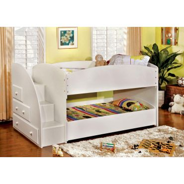 Leslie Bunk Bed With Drawers