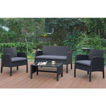 Maxim Outdoor Conversation Sofa Set