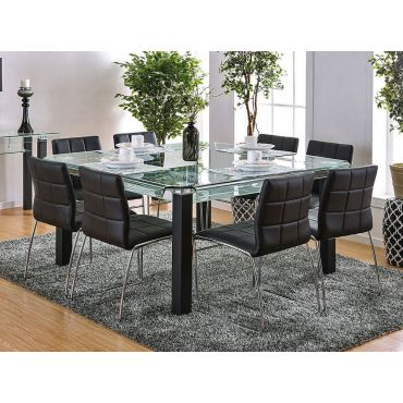 Midvale Large Square Top Table Set