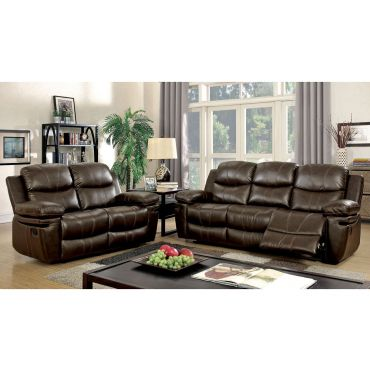 Mike Recliner Sofa With Drop Down Table