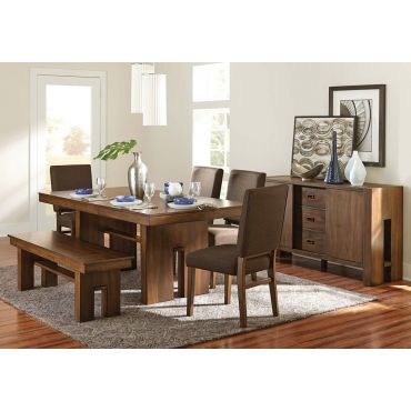 Miles Contemporary Dining Table Set