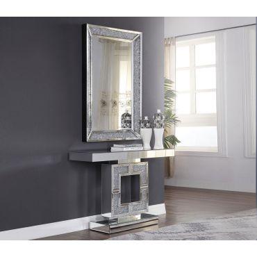 Samie Mirrored Hallway Console