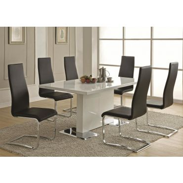 Bryn Modern Lacquer Dining Table
