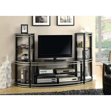 Black Creek Modern Media Wall Unit