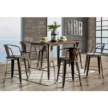 Modus Industrial Farmhouse Pub Table Set