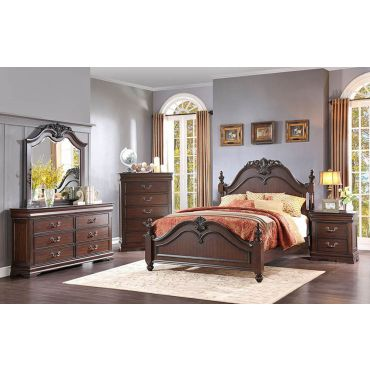Mont Belvieu Traditional Bed Collection