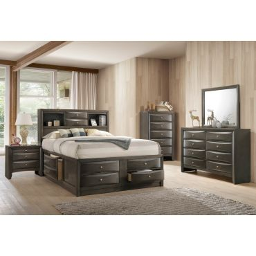 Monton High Platform Bed With Storage